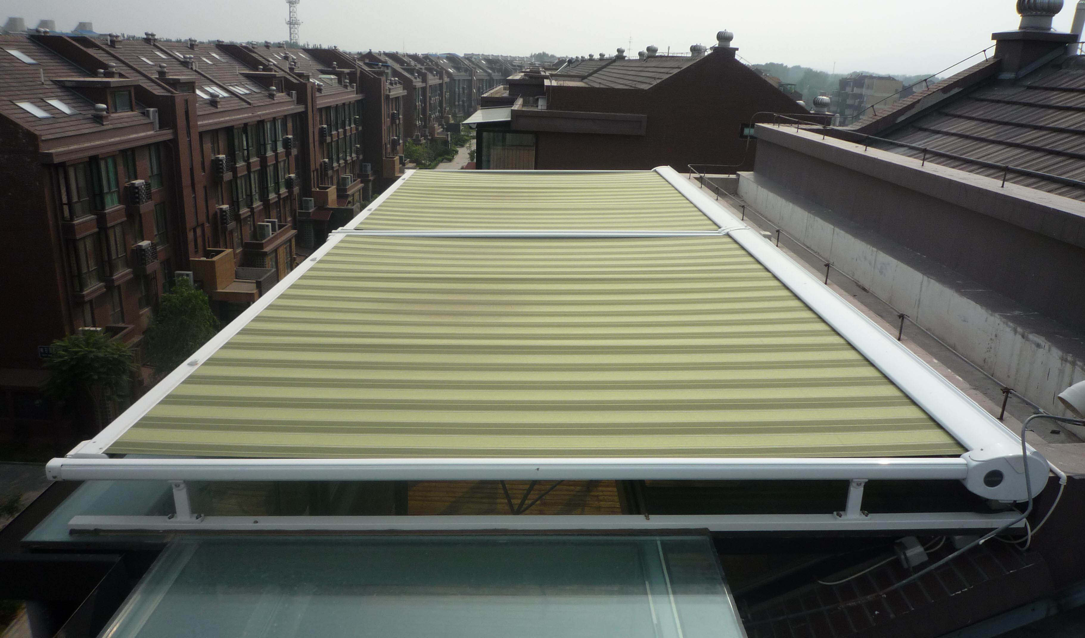 遮阳篷固定篷 - 宁波苏隆膜结构工程有限公司